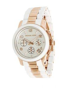 Luxury Watch Boutique - Michael Kors Ladies Runway Rose Gold