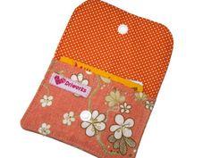Porte-cartes Fleurs, Porte monnaie, Petit Pochette, étui écouteurs : Etuis, mini sacs par driworks