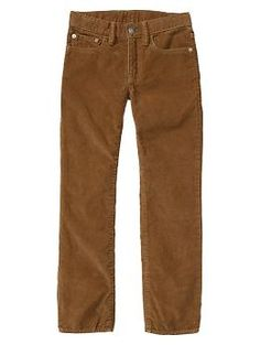 Original fit cords from Gap Kids.  Great for a cozy, winter look.