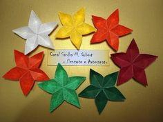 FLOR DE ORIGAMI - SAKURA - YouTube Easy to follow tutorial for origami stars!