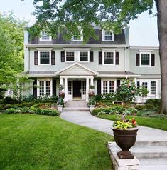 Front Yard Design, Front Yard Fence, Front Yard Landscaping, Landscaping Ideas, Front Yards, Backyard Patio, Landscape Curbing, Pattern Floral, Healthy Recipes