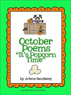 LMN Tree: National Popcorn Popping Month Free Resources and Free Poem