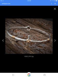 Earth Grace Cross Bracelet, love this!