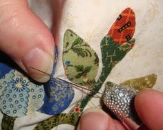 FABRIC THERAPY: Glue stick applique, the tutorial: PART THREE...