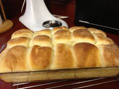 These are really easy yeast rolls - and delicious
