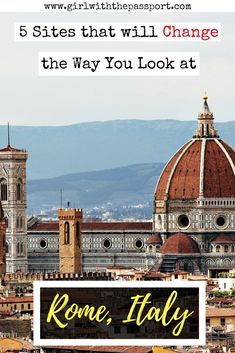 Planning some Italy travel or an Italy vacation? If you are then Rome Italy travel will be on your list. So check out this post for a list of unique Rome Italy things to do.