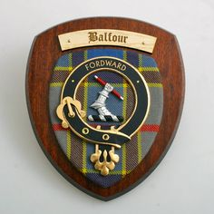 Balfour Clan Crest Wall Plaque