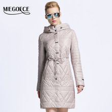 MIEGOFCE 2017 Nouveau printemps veste femmes manteau d'hiver femmes chaud outwear Mince Rembourré coton Veste manteau Femmes Clothing Haute Qualité(China (Mainland))