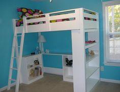 kids loft bed - Google Search