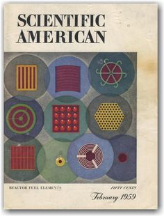 Scientific American Cover by Eric Mose Scientific American Magazine, Editorial Design, Retro Vintage, Typography, Annual Reports, Kids Rugs, Brochures, Magazine Covers, Books