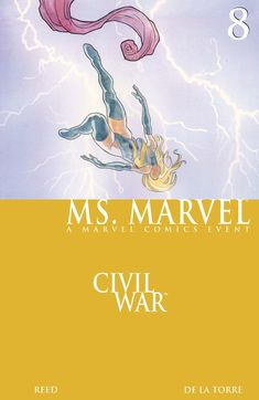 While training newly-registered superheroes, Ms. Marvel must also track down an old friend who has gone rogue! Marvel Comic Books, Marvel Characters, Marvel Movies, Ms Marvel, Captain Marvel, Marvel Entertainment, Comic Book Covers, Rogues, Cover Art