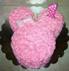 Minnie Mouse Smash Cake  By KW_Cupcake@yahoo.com