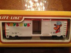 Life Like HO Scale Train Car Toy's R US Geoffrey The Giraffe Boxcar 8506 | eBay
