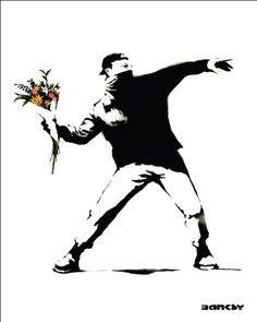 Malitov Flower Urban Graffiti Art Poster Print 16x20