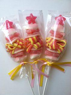 Mini Princess Wand Sweet Skewer  12 by SweetsIndeed on Etsy, $39.00