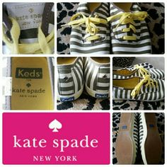 Kate Spade/Keds Sneakers AUTHENTIC. Worn once. No rips or tears. kate spade Shoes Sneakers