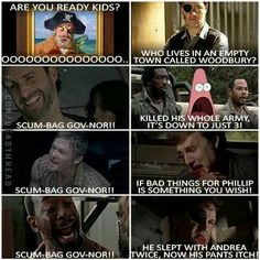 TWD LOL! THIS IS SO FUNNY! I LOVE IT WHEN THEY USE SPONGEBOB AS A WALKING DEAD JOKE! HAHAHA