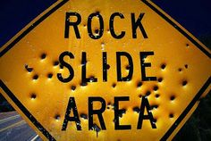 How Can Rockslide Cause Traffic and Danger to Motorists  www.888bailbond.com