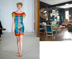 Agnes B Spring 2012 RTW and House Beautiful