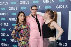 """Jenna Lyons Photos Photos - Executive Producer Jennifer Konner, Fashion Designer Jenna Lyons and Actress Lena Dunham attend the New York Premiere of the Sixth & Final Season of """"Girls""""  at Alice Tully Hall, Lincoln Center on February 2, 2017 in New York City. - The New York Premiere of the Sixth and Final Season of 'Girls' - Red Carpet"""