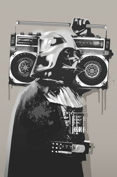 Darth Vader Street Art More news about worldwide cities on Cityoki…