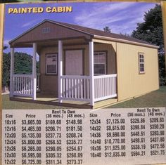 Wildcat Barns Rent To Own Sheds Log Cabins Mini Barns