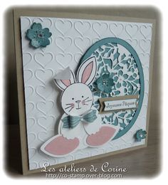 Easter card and box