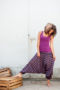 Szarawary baggy z Nepalu w KOKOworld na DaWanda.com