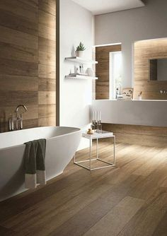 Committing to a contemporary bathroom design can be a space-saving and rewarding decision. There are two different types of contemporary […] Home, Bathroom Flooring, Contemporary Bathrooms, Bathroom Inspiration, Small Bathroom Remodel Designs, Bathrooms Remodel, Beautiful Bathrooms, Contemporary Bathroom Designs, Contemporary Bathroom