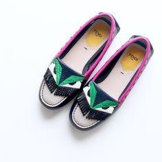 Monster moment flat shoes #Fendi #Monster  @fendi