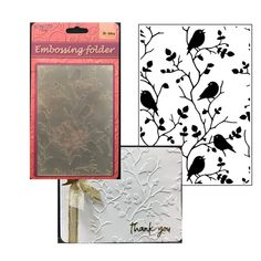 Cherry Blossoms Tree Embossing Folder Nellie Snellen Flowering Spring Folders
