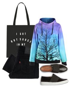 """No.11"" by kirakirameru04 on Polyvore featuring Levi's"