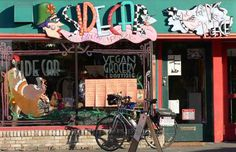 Sidecar For Pigs Peace, Washington's only 100% vegan store #seattle #universitydistrict