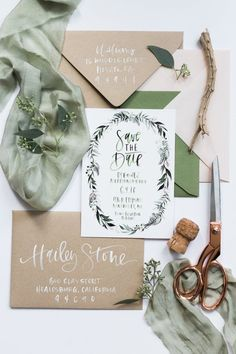 blush  green botanical watercolor wreath custom by afabulousfete