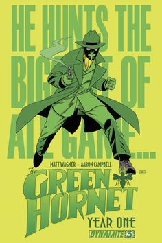 Dynamite® Green Hornet: Year One Bruce Lee, Archie Comics, Dc Comics, Comic Book Covers, Comic Books, Film D'action, Green Hornet, Lone Ranger, 3 In One