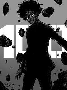 Anime & Manga on - Hataraku Saibou, Hinamatsuri, SAO, Fate Sucubus Anime, Dark Anime, Anime Guys, Mob Psycho 100 Wallpaper, Character Inspiration, Character Art, Mob Psycho 100 Anime, Mob Physco 100, Creepy Art