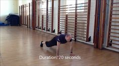 Bodyweight workout for the upper body - Primal Flow