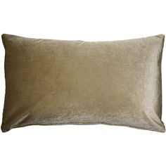 This is a light sable or deep tan inch velvet throw pillow that bridges brown and gold tones. The Corona Velvet pillows are made from an exceptionally soft, medium-pile velvet fabric with a medium sheen. Size: x Pattern: Solid Color. Green Velvet Pillow, Velvet Pillows, Machine Wash Pillows, Pillow Reviews, American Decor, How To Make Pillows, Lumbar Pillow, Decoration, Floor Pillows