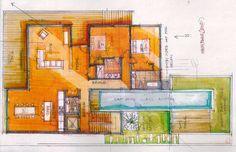 Our Process Diagram, Floor Plans, The Incredibles, Exterior, Design, Outdoor Spaces, Design Comics, Floor Plan Drawing