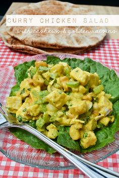 Curry Chicken Salad - A Teaspoon of Happiness