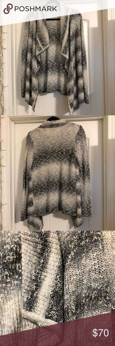 (NWOT) G.H. Bass & Co. Gradient Gray Cardigan I have too many cardigans and I have never worn this one so out it goes 😂 It's a lovely cardigan, very soft, and very warm. I'm trying to get my closet under control so sadly I have to let go of some really nice pieces! Size XS, never worn! Bass Sweaters Cardigans