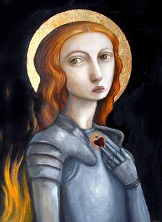Joan Of Arc by flea-sha.deviantart.com