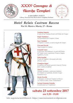 Italia Medievale: XXXV Convegno di Ricerche Templari