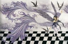 Amy Brown Raven Dance Fairy Print -- Limited Edition