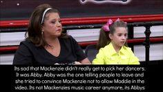 Dance Moms Confessions Dance Moms Mackenzie, Dance Moms Confessions, Dance Moms Facts, Maddie Z, Show Dance, Tv Watch, Happy Dance, 13 Year Olds, Pretty Little Liars