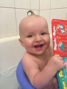 JAYDE loves bath time and Peek-a-boo!!! Enter the code JAYDE for 5 extra entries. #CLB5 #PLNbabyoftheday