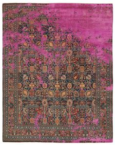 Jan Kath 'Rug' (amazing distressed look spin on a classic carpet/rug design)