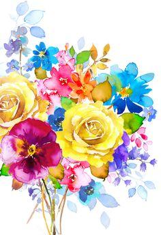 Harrison Ripley - BUNCH OF MIXED FLOWERS 2 copy.jpg