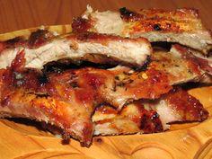 Coaste de porc dulci-picante