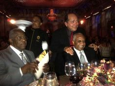 Henry Aaron, Johnny Bench and Frank Robinson